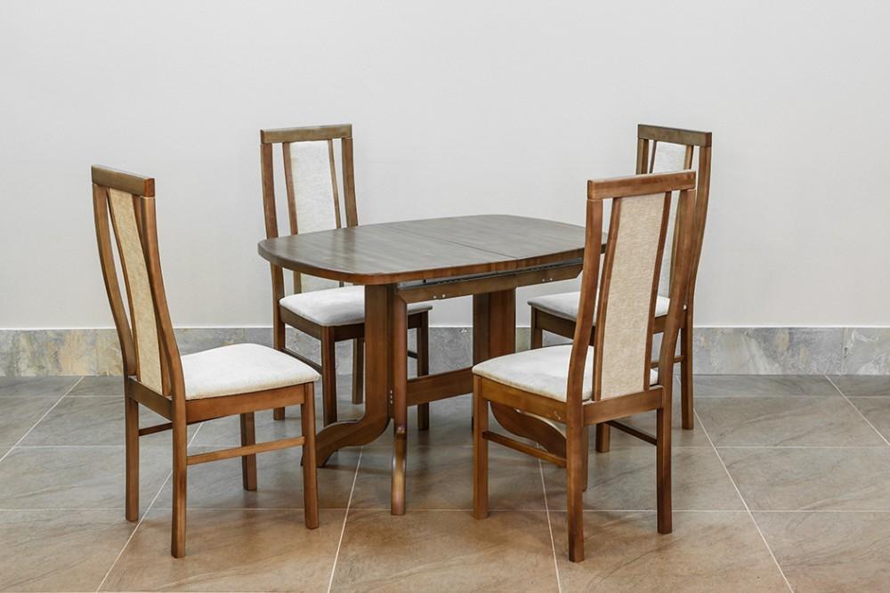 Ни одна нынешняя кухня не обходится без таких стандартных элементов меблировки, как стулья или обеденный стол